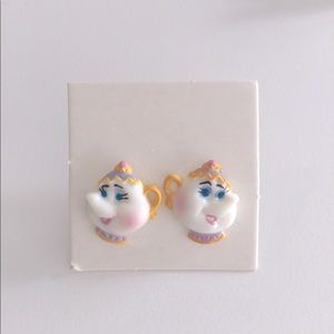 Vintage Beauty and the Beast Earrings